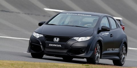 2015 Honda Civic Type R Review: Prototype drive