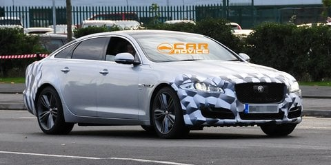 Jaguar XJ: facelifted luxury flagship spied