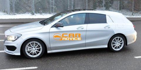 Mercedes-Benz CLA Shooting Brake: compact wagon spied