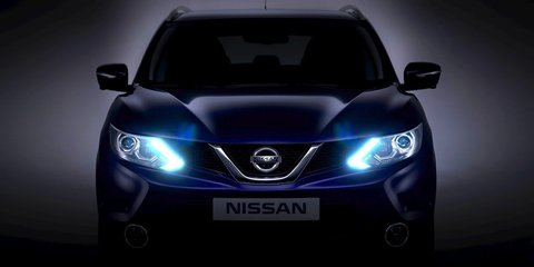 Nissan Qashqai: compact crossover's face revealed