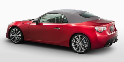 Toyota 86 convertible, turbocharged variants not happening, says Scion