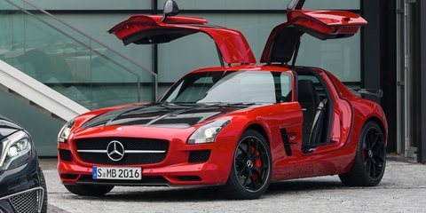Mercedes-Benz SLS AMG GT Final Edition revealed