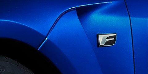 Lexus teases next 'F' model