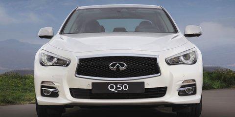 Infiniti Q, QX naming structure takes effect in Australia