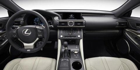 Lexus RC F : 330kW-plus V8 coupe unveiled