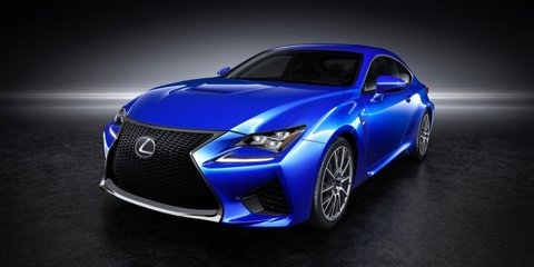 Lexus RC F : 330kW-plus V8 coupe unveiled