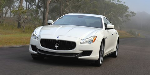 Maserati Quattroporte S : twin-turbo V6 priced from $240,000