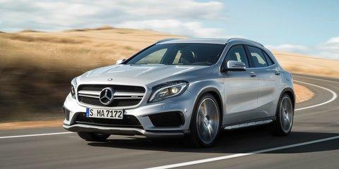 Mercedes-Benz GLA45 AMG : 265kW, 4.8sec 0-100km/h crossover revealed
