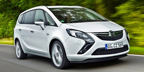 Opel Zafira $36,990 price revealed; Corsa clears from $11,990, Insignia $27,990