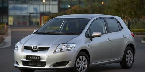 2008 TOYOTA COROLLA ASCENT Review