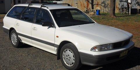 1996 Mitsubishi Magna Executive Review