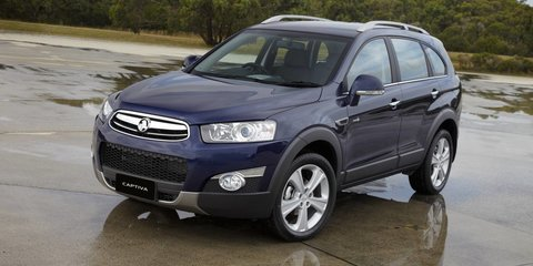 2012 HOLDEN CAPTIVA LX Review