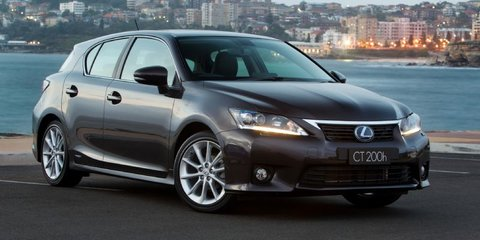 2012 LEXUS CT 200h SPORTS LUXURY Review