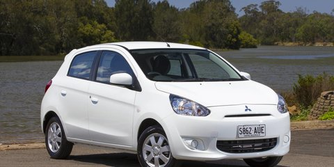 2013 MITSUBISHI MIRAGE SPORT Review