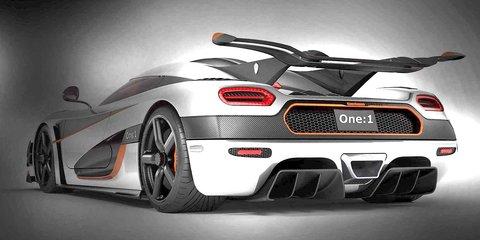 Koenigsegg Agera One:1: 1000kW Veyron rival teased