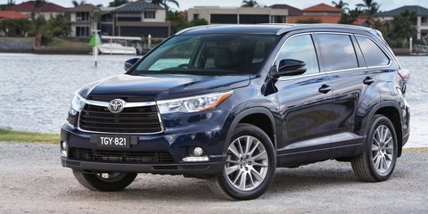 2014 Toyota Kluger : Pricing and specifications
