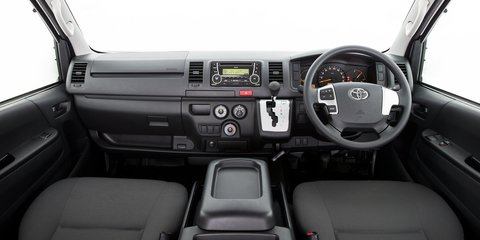 2014 Toyota HiAce boosts comfort, safety specification