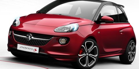 Opel Adam S hot-hatch revealed