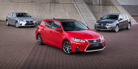 Lexus CT200h: facelifted hatch range retains  $39,990 starting price