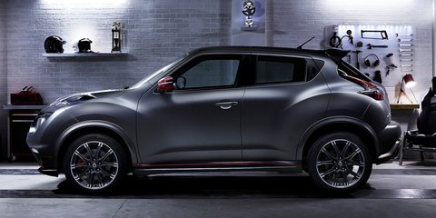 Nissan Juke Nismo RS : hardcore crossover updated