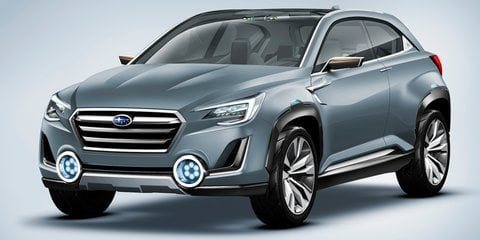 Subaru Viziv 2 : sub-compact SUV concept closer to production-ready