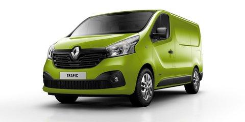 Renault Trafic van revealed