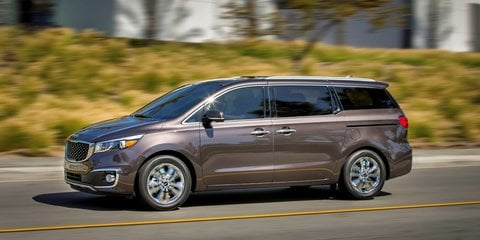"2015 Kia Carnival : ""Considerable changes"" from KV7 concept"
