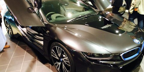 BMW i8 unveiled in Sydney