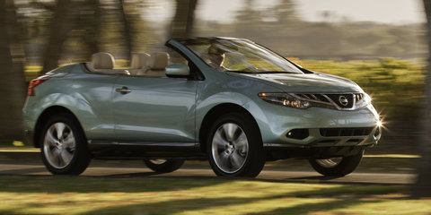 Nissan Murano CrossCabriolet axed