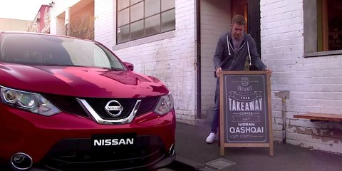 Nissan Qashqai video hints at local division's re-naming nerves
