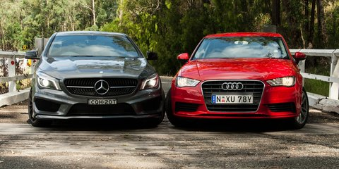 Audi A3 sedan v Mercedes-Benz CLA-Class : Comparison Review