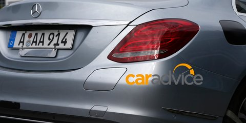 2015 Mercedes-Benz C350 Plug-In Hybrid spied