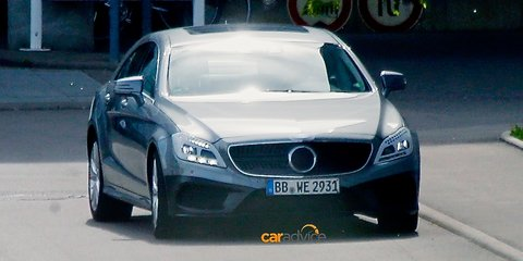 Mercedes-Benz CLS-Class facelift spied: new technology, nine-speed auto expected