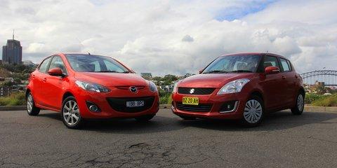 Mazda 2 v Suzuki Swift: Comparison review