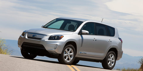 Tesla says Toyota RAV4 EV production will end in 2014
