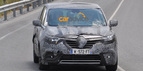 2015 Renault Espace spied ahead of Paris premiere