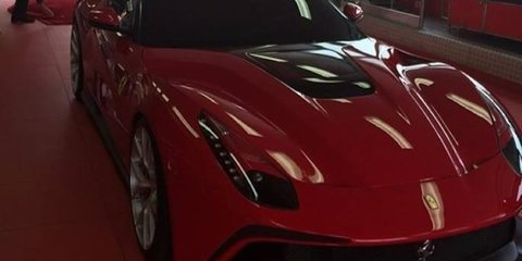 Ferrari F12 TRS: New one-off supercar surfaces