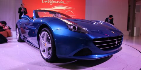 Ferrari California T : local launch gallery