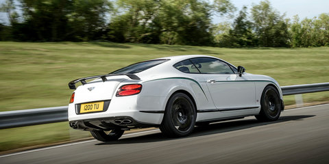 Bentley Continental GT3-R: 426kW/700Nm V8 coupe revealed