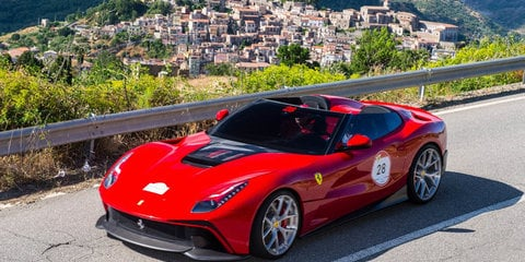 Ferrari F12 TRS: A one-off open top F12 Berlinetta