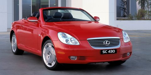 Lexus SC430 recalled over Takata airbag issue