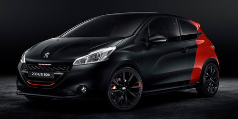 Peugeot 208 GTi 30th Anniversary Edition unveiled
