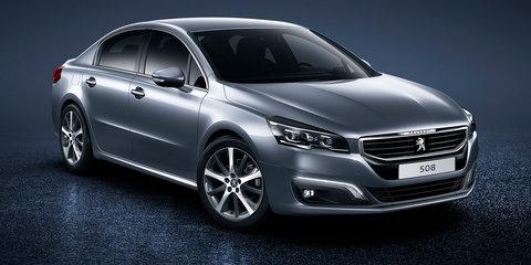 Peugeot 508 facelift revealed