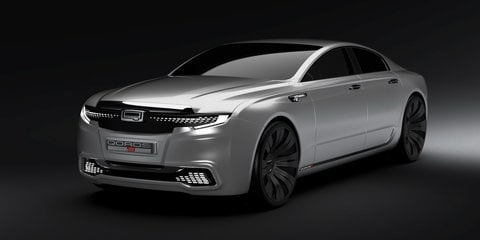 Qoros 9 Sedan Concept presents a flagship vision for 2020