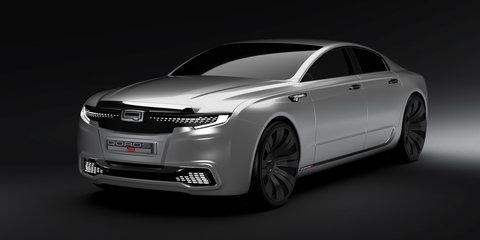Qoros 9 Sedan Concept presents a flagship vision for 2020