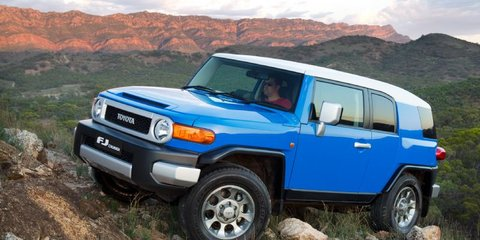 Toyota FJ Cruiser safe in Australia