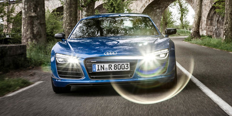 Audi R8 LMX Laser Lights
