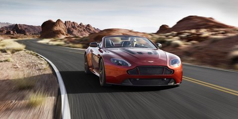 Aston Martin V12 Vantage S Roadster : British brand's fastest ever drop-top revealed