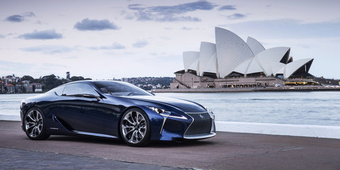 Lexus LF-LC: production flagship coupe set for 2016