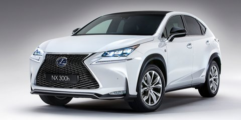 Lexus NX set for $55-60K starting point